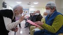 鹿児島市 住宅型有料老人ホーム・デイサービス せせらぎの里鹿児島南 バレンタイン