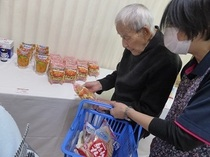 有料老人ホーム・グループホーム せせらぎの里鹿児島南 買い物レク